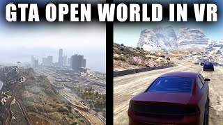 GTA Open World In VR - \