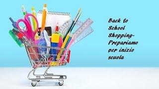 Shopping per Scuola in America