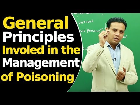 General Principles Involed in the Management of Poisoning