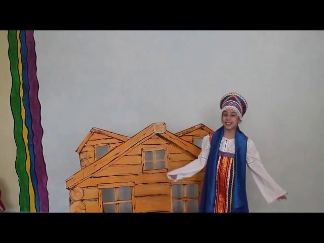 Изображение предпросмотра прочтения – УльянаБеженцева читает произведение «Присказки» (Русский фольклор )