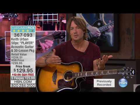 HSN | Keith Urban Guitar Collection 09.07.2016 - 05 AM