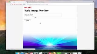 Ricoh | Scan t๐ Email Setup