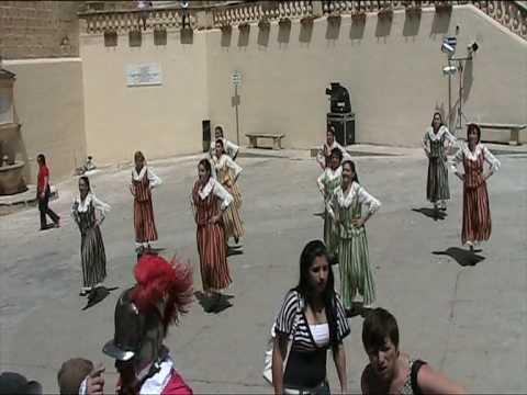 Female Maltese Folklore  Gozo May 2009