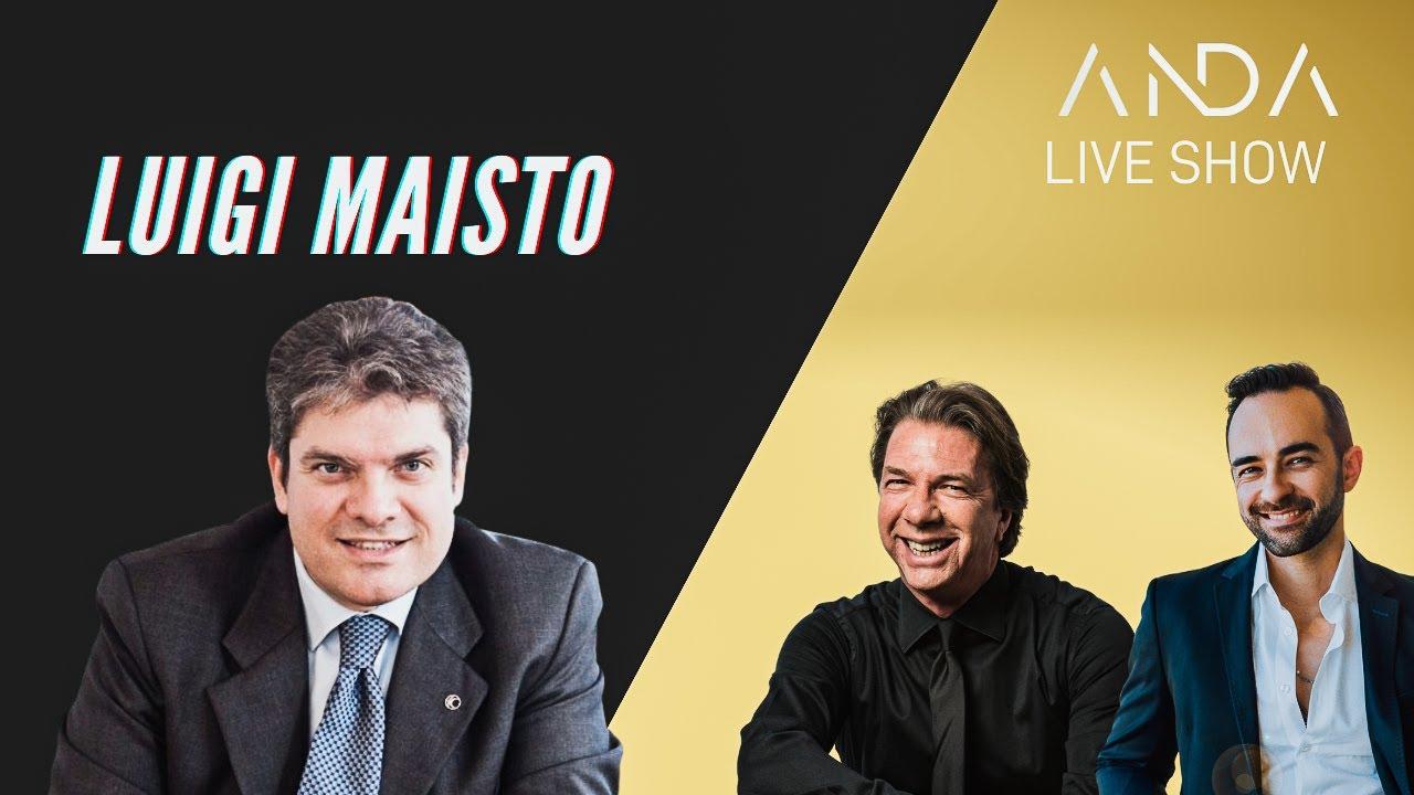 ANDA Live Show con ospite Luigi Maisto