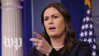 White House news briefing thumbnail