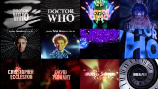 Twelve Doctor Who Intros at Once v2