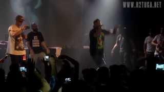 Mundo, Sam The Kid, Chullage, Deau e Kristóman no Festival Vicious HipHop, Hard Club, 20/07/2013