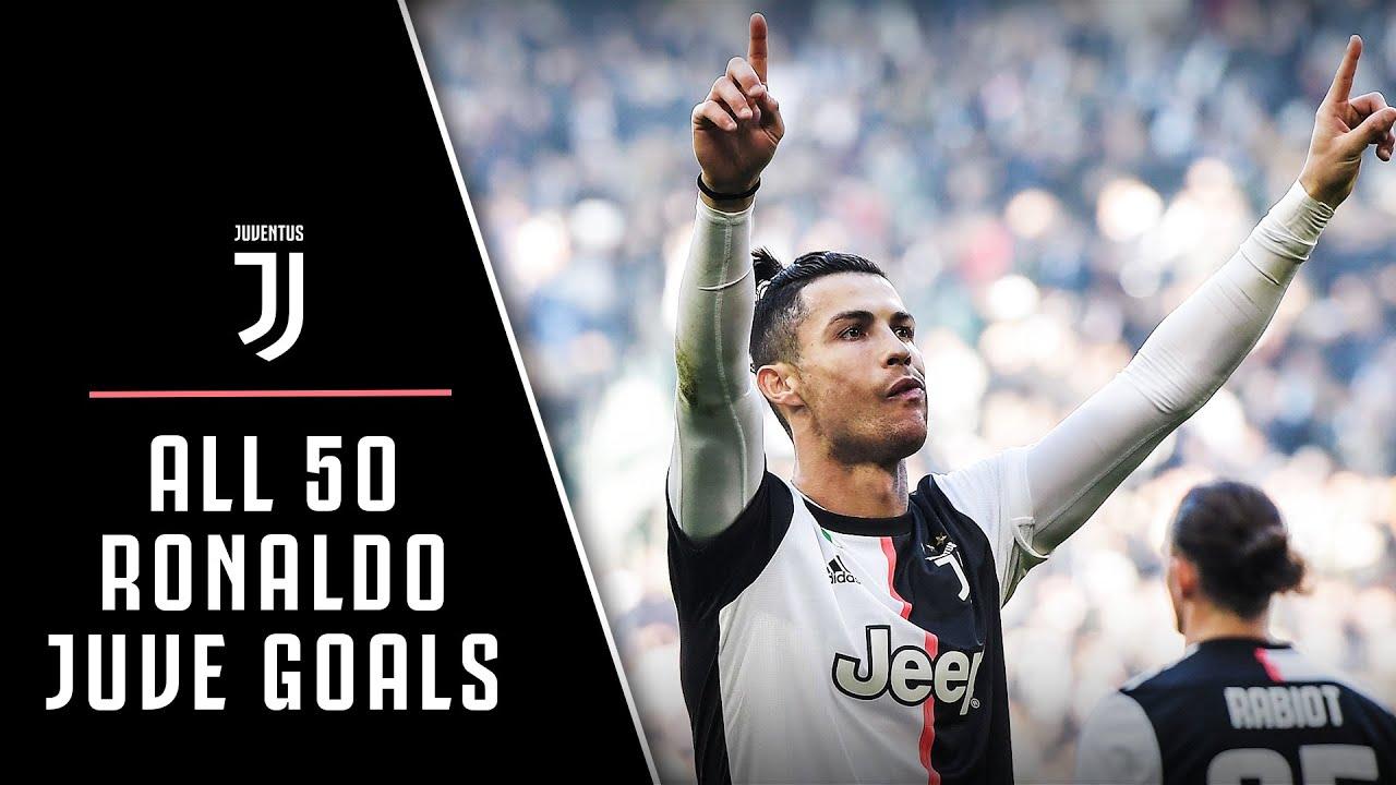 Every Single Cristiano Ronaldo Juventus Goal Cr7 To Cr50 Youtube
