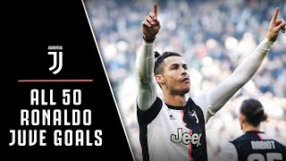 EVERY SINGLE Cristiano Ronaldo Juventus Goal! | CR7 to CR50