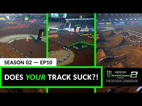 Does Your Track Suck? - Supercross The Game 2 - Episode 10