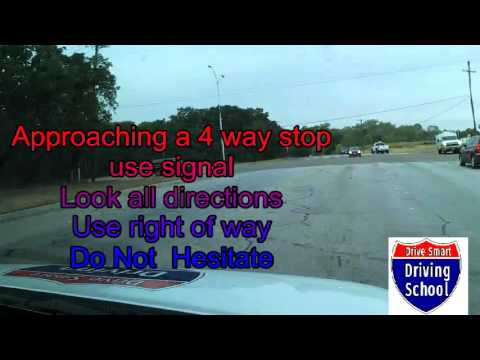 How to pass a Fort Worth Mega Center (or any) DPS  Road Test