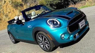2016 MINI Cooper S Convertible FIRST DRIVE REVIEW with Emme Hall of C|NET • Roadshow
