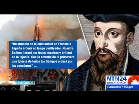 """Profecía de Nostradamus: """"una iglesia de todos los tiempos arderá por los pecadores"""""""