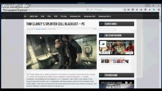 How to download Splinter Cell BlackList For Free (2016)