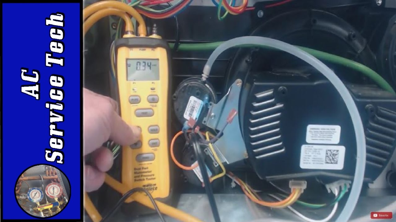 Furnace Pressure Switch Troubleshooting Definite Testing