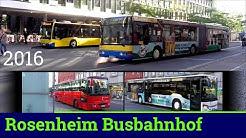 [HD] Busverkehr in Rosenheim 2016
