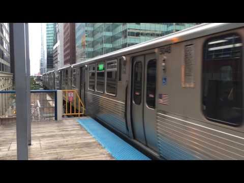 CTA 5000 Series Bombardier Green Line Train