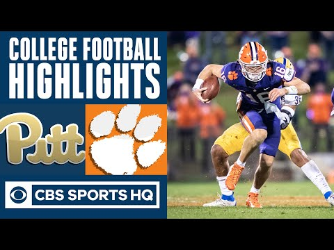 Pittsburgh vs 3 Clemson Highlights: Trevor Lawrence throttles Pittsburgh  CBS Sports HQ