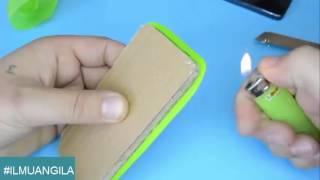IDE Kreatif   Cara Membuat Casing HP Keren Hanya Dengan Botol Sampo Bekas Loh