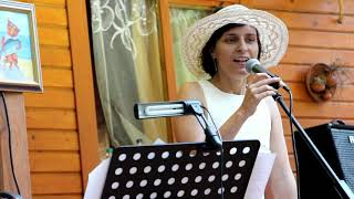 Красивая песня.А в лесу сосновом.Живая музыка.Юлия Маликова, вокал, соло, труба.Yulia Malikova