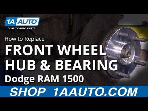 How to Replace Wheel Hub & Bearing 94-02 Dodge RAM 1500