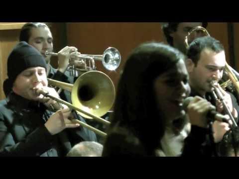 Rebecca Pecoriello Jazz Singer- Conservatorio Pescara -Concerto Natale 2013
