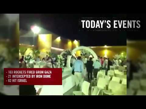 Day 2 of Operation Protective Edge - July 9, 2014