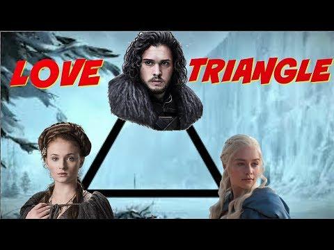 The Jon Snow, Daenerys Targaryen, Sansa Stark Love Triangle - Game Of  Thrones Season 8 Predictions