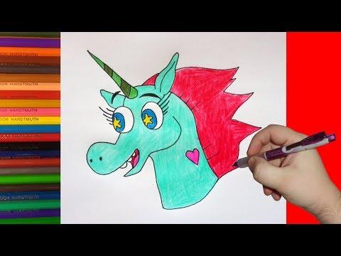 Как нарисовать голову пони