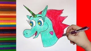 How to draw Pony Head, Как нарисовать Пониголовую, Стар против сил Зла