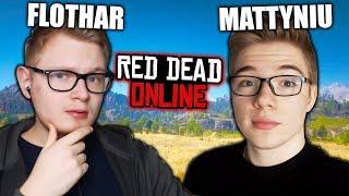 DWÓCH DEBILI POLUJE NA PUME - Red Dead Online PL #1 (Flothar & Mattyniu)