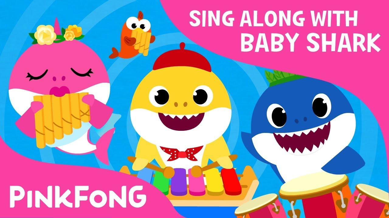 The Shark Band | Sing Along with Baby Shark | Pinkfong Songs for Children