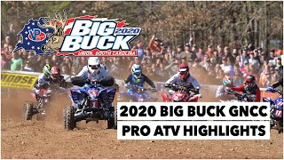 2020 Big Buck GNCC ATV Highlights