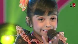 Derana little star season 9 - aksha chamudi - rathadara siriya paradana