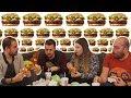 Hamburger Yeme Kapışması - Hesap Ödetme Cezalı