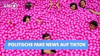 TikTok-Videos: Politische Falschinformationen gehen viral