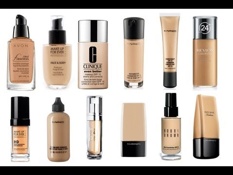 The best liquid foundations ever youtube for Different foundations