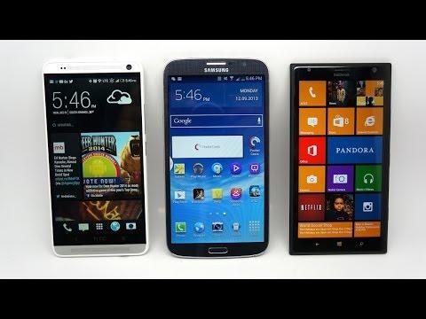 HTC One Max vs Samsung Galaxy Mega vs Nokia Lumia 1520