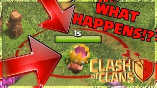 What Happens if you REMOVE Last Year's Halloween Obstacle in Clash of Clans Halloween UPDATE 2019