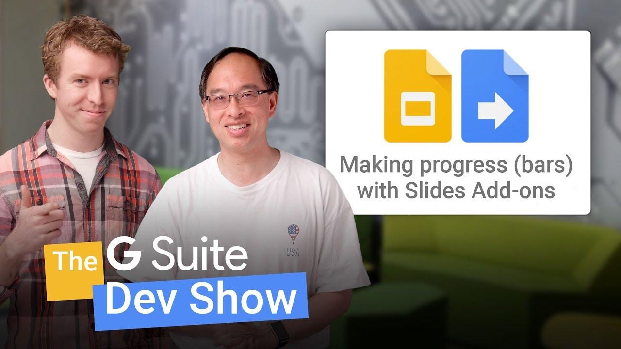 Quickstart: Progress bar add-on for Google Slides | G Suite