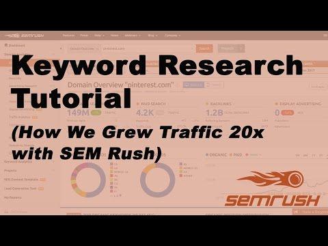 SEMrush Keyword Research Tutorial: Two Effective Methods!