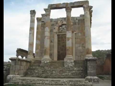 """L'Algérie aux paysages variés & magnifiques """"Ruines Romaines de Djemila"""" Sétif"""