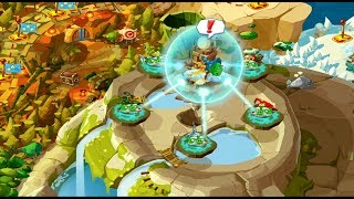 Angry Birds Epic: (All Boss Fights) Magic Shield 1, 2, 3, 4, & 5 Gameplay iOS, Android 2014