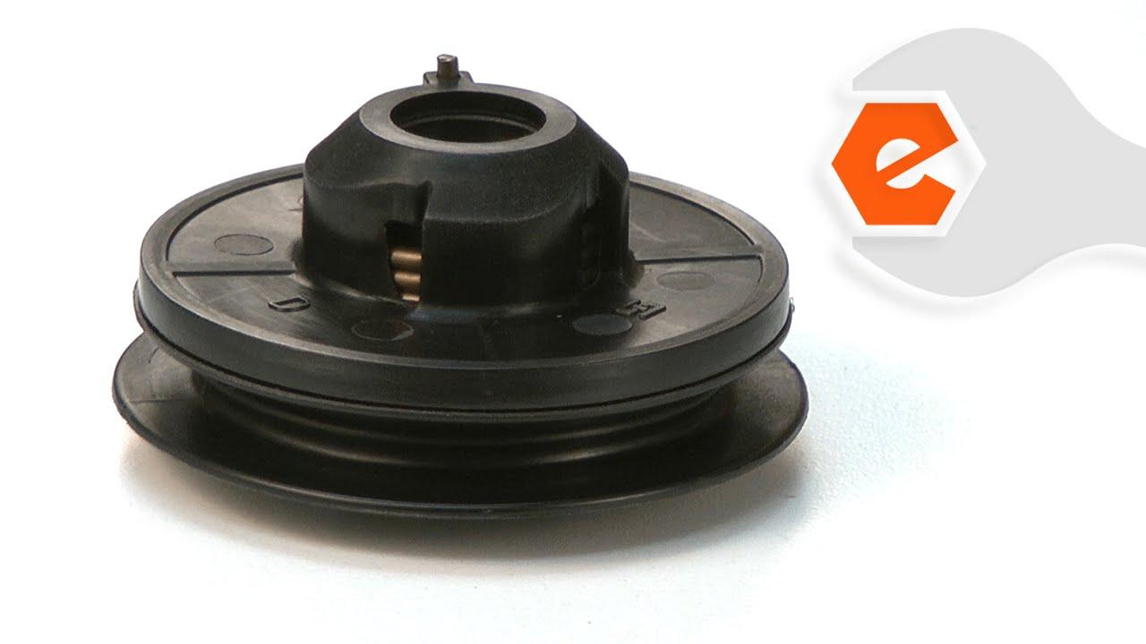 Trimmer Repair Replacing The Starter Pulley Ryobi Part 308374001