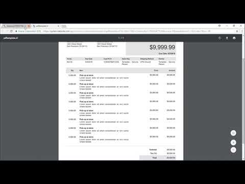 NetSuite - Creating a Customized Invoice Template