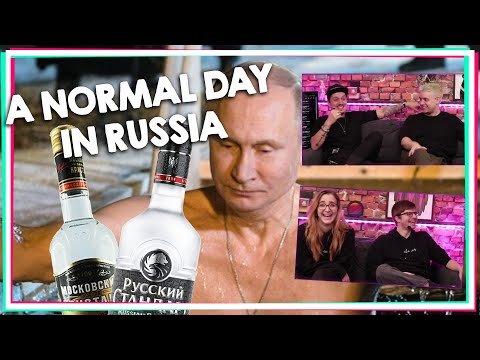 ARBEITEN ERST AB 3 PROMILLE! A Normal Day In Russia #1 [React]