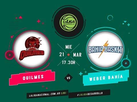 #LaLigadeDesarrollo   21.03.2018 Quilmes de Mar del Plata vs. Bahía Basket
