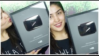 Unboxing the silver play button vlog