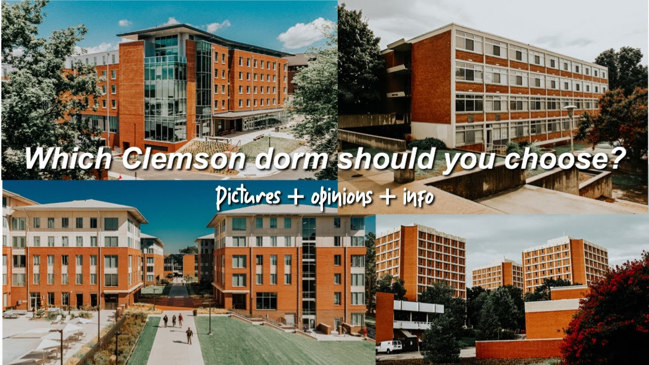 What Clemson Dorm Should You Choose Pictures Opinions Info Youtube