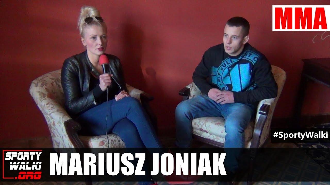 Mariusz Joniak po zwycięstwie na Bebson Arena 3
